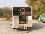 Rimorchio automatico del chiosco di vendita dell'alimento del carrello di trasporto dei carrelli di vendita dell'alimento ISO9001
