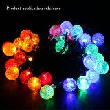 El servicio centralizado de producción de los siete colores decorativos del jardín de la luz de la cadena de LED