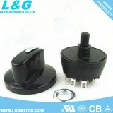 모터 off/L/M/H 4 위치 로터리 스위치