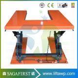plate-forme hydraulique de levage de ciseaux de forme du profil bas U de 1m