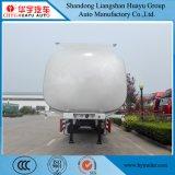 40000L de gasolina/diesel de acero al carbono/aceite//depósito de combustible líquido inflamable semi remolque