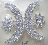 De Gespen van de Parel van het Bergkristal van het Kristal van de Vorm van de manier voor de Toebehoren van de Riem van het Kledingstuk