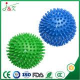 Bola de la yoga de la faja del clavo de la punta de bola del apretón de Acupoint del masaje del PVC