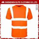Hallo de Fluorescente Gele T-shirts van het Werk Vis