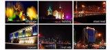 Im Freien lineare LED-Wand-Montierung, IP65, RGB, Handelsbeleuchtung