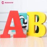 훈장을%s 신제품 고품질 PVC&Wooden 3D 편지 테이블