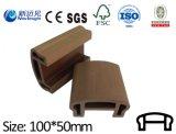 Decking de 80*35mm WPC, Decking, composto plástico de madeira