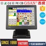 LCD 15 pulgadas de pantalla táctil resistiva