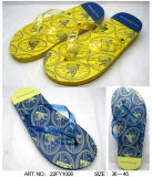 Il sandalo dei pistoni PE/PVC/TPR/EVA della spiaggia calza la caduta di vibrazione (22FL908)