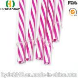 Het kleurrijke Plastic Harde Stro van pp voor het Drinken (hdp-0030)