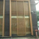عالة تصميم لوح خارجيّ لأنّ بناية معماريّة جدر [ستينلسّ ستيل] مادة