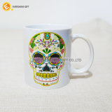 taza de café de cerámica de la promoción de la sublimación del derramamiento de petróleo 11oz
