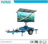 Dos sinais ao ar livre dos Vms da potência solar do Ce sinal móvel do diodo emissor de luz do reboque