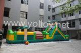 Corsa ad ostacoli gonfiabile commerciale, Inflatables interattivo, giochi gonfiabili di sport