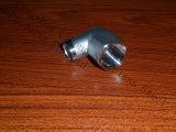Ajustage de précision de pipe d'acier inoxydable DIN2999 coude de 90 degrés