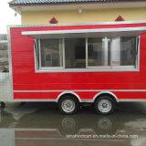 Il migliore rimorchio dell'alimento, rimorchio di concessione, carrello dell'alimento per la cucina mobile