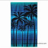 Tovagliolo di spiaggia stampato cotone del tovagliolo di bagno del velluto con i disegni Colourful