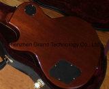 Grand Música / DIY Lp Guitar Kits / Estilo Garymoore Lp guitarra eléctrica com Hardcase (BPL-635)
