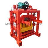 기계를 만드는 Qt4-40 싸게 수동 콘크리트 블록