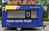 De Aanhangwagen/de Kar van het voedsel met Goede Ontwerp en Hoogstaand voor Verkoop