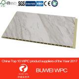 Película de PVC frente WPC el panel de pared para la decoración de interiores