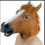 Máscara feita sob encomenda do partido da máscara de Halloween da máscara assustador da cabeça de cavalo