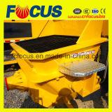 Pompa concreta diesel del rimorchio di capienza di consegna di alta qualità 81m3/H- 88m3/H