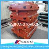 Matériel de moulage de fonderie de cadre de sable de machine de bâti de procédé de vide de qualité