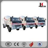 Aplicação útil e caminhão simples do misturador concreto de modelo pequeno de Jiuhe da operação