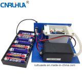 건전지 상자를 가진 배터리 전원을 사용하는 400mg/Hr 소형 오존 발전기
