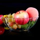 Las frutas y alimentos clara vajilla tazón de vidrio.