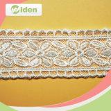 Cordón neto del bordado de los accesorios hermosos para la alineada de boda