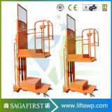 Máquina de solda automática vertical móvel Homem Máquina de elevação de soldadura