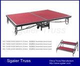 1.83 * 2.44 M 6 * 8 Feet Steel Folding Stage Banquet Equipment