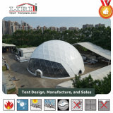 Meia barraca esférica dos tamanhos diferentes para eventos e o festival ao ar livre