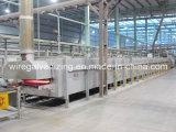 Forno di ricottura aperto del filo di acciaio del fuoco del gas del fornitore di Wuxi