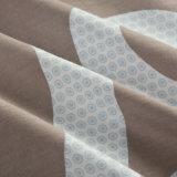 O estilo 100% simples do algodão imprimiu o jogo do fundamento