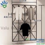 معدن يعلّب ملابس [ديسبلي رك] جدار عرض حامل قفص لأنّ نمو لباس داخليّ