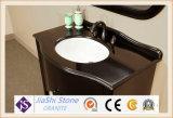 Самомоднейший черный китайский Countertop гранита для ванной комнаты с 1200*600mm