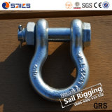 Wir Typ heiße eingetauchte galvanisierte Bogen-Fessel G2130