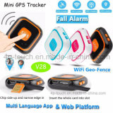 Beweglicher GPS&Mini GPS Verfolger PAS-mit Istzeit aufspürenV28