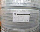 """1/4 """" - 3 """" de mangueiras reforçadas trança da fibra do PVC"""