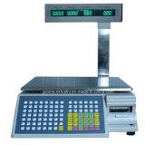 30kg 디지털 Barcode 레이블 인쇄 기계 가늠자 소매 가늠자