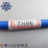 Certificado UL Thhn Thwn Thw Tw 600 volts do fio elétrico de alumínio