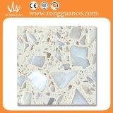 大きい花の自然な大理石の人工的な大理石の床タイル(RB101T)