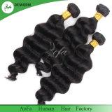 Os fornecedores de Guangzhou Cabelo humano Virgem brasileira de ondas soltas trama de cabelo