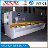 QC11y-10X3200 Cisaillement guillotine hydraulique machines/plaque en acier de machines de coupe