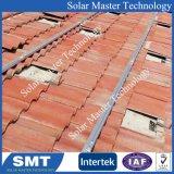 Panneau solaire sur le toit d'alimentation du système de montage