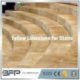 Chinesische Qualitäts-natürlicher Steinkalkstein für Treppe/Jobstepp/Aufbruch