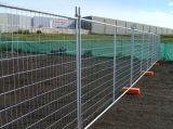 Galvanisé barrière clôture temporaire de contrôle de la construction de clôtures temporaires